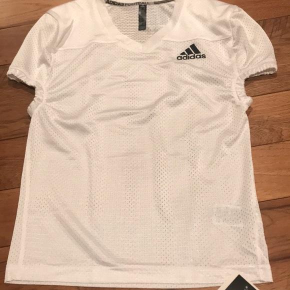 Adidas Boys FootBall Jersey. NWT